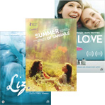 De dvd's Liz, Tru love en Summer of sangaïlé